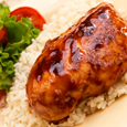 Barbequed Chicken with Citrus Yogurt Marinade