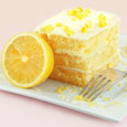 Chilled Lemon Yogurt Cake with Creamy Yellow Filling