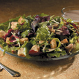 Orchard Salad With Sweet Gingerly Yogurt Dressing