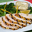 Grilled Turkey with Citrus Yogurt Marinade